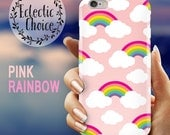 Pink Rainbows iPhone 6s case iPhone 7 Plus case iPhone 6 case 5s 5c kawaii case