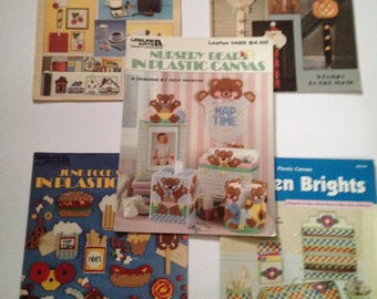 plastic canvas pattern books