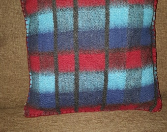 decorative pillow of wool
