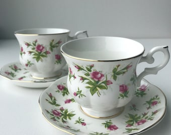 Tea cups and saucer Royal Canterbury