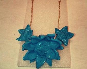 "Necklace ""Blue like the sky"""