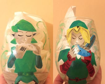 Saria song wine glasses