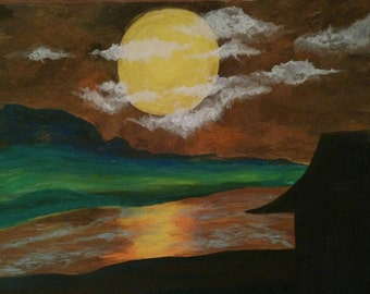 Dawn Landscape Painting