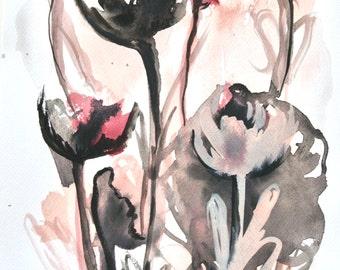 Floral - Illustration - Art - Watercolor