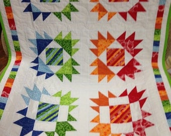 Custom, hand-made baby/toddler quilt