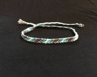 Demiboy Pride Friendship Bracelet