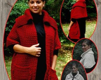 Sweater Shawl PDF Download