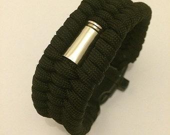 KMP 'BULLETZ' 9mm Trilobite Paracord Wristband