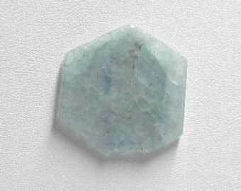 Aquamarine Crystal slice