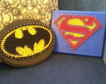 Super hero string art