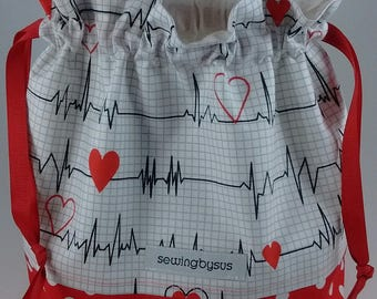 Heartbeats project bag