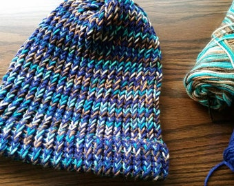 Slouchy Hat- Blue
