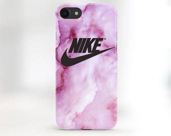 Nike Phone Case iPhone 6 Case Pink Marble Nike iPhone 7 Case iPhone 7 Plus Nike iPhone Case iPhone 6s Nike Marble Case Rose Marble Case SE