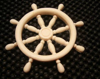 Australian Made Fondant Mold.  SHIPS WHEEL.  Fondant Mold. Hi Quality Silicon, use with Fondant, SugarCraft, Elegant Cake Decorating