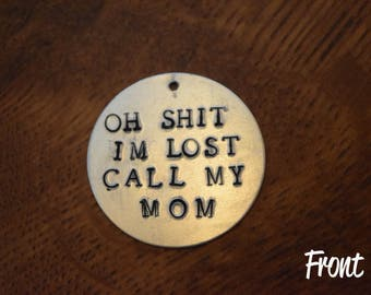 Call My Mom Pet ID Tag