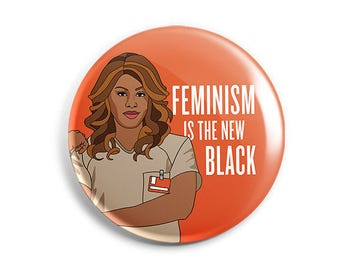 Feminist Sophia Burset Button
