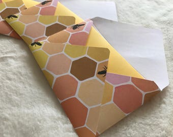 Bee Hive Envelopes