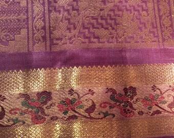 49. A Majestic Majenta Pure Kanchipuram Saree