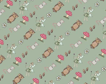 Woodland Themed Wrapping Paper