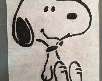 Snoopy decal