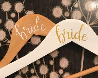 Bride Wedding Dress Hanger | Bridal Hanger | Dress Hanger | Bridal Party Hanger