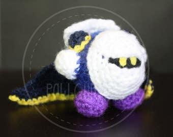 Kirby metaknight keyring - Samsh Bros. - 5 cm (2 inches) amigurumi