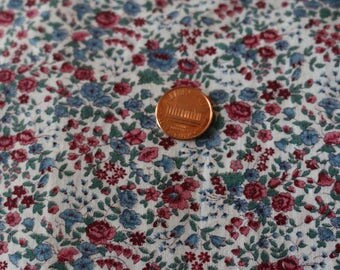 21  Vintage, A nice calico in rich colors. Cotton