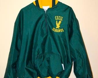 Vintage Cecil Seahawks Bomber Jacket