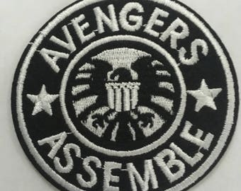 Avengers Assemble Embroidered Patch  Iron Or Sew On