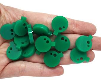 Bomb mini earring supplies x20, Bombs mini earring, Bombs mini jewellery, Bombs bijoux supplies, Bomb lasercut wood plexiglas - SET 20 pz