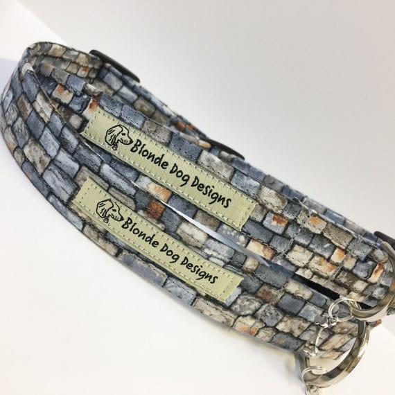 Sale Dog Collar, Dog Collar, Another Brick In The Wall, Grey Dog Collar, Dog Collar UK.