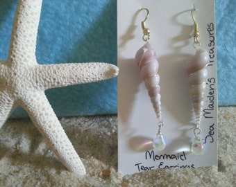 Mermaid Tear Drop Earrings