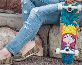 Mini Cruiser Deck | Tutti Frutti - Azza Skateboards