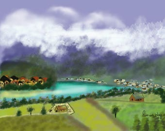 A Township in Mountains