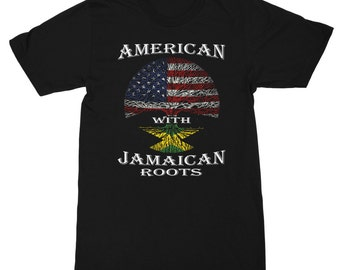 American with Jamaican Roots Men's T-Shirt