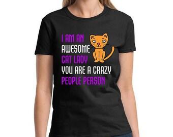 Cat t-shirt, Cat Lady, Cat Tee, Cat Gift Idea, Funny Cat t shirt,Pet T Shirt, Cat Lady shirt, Cat top,  Cat tee for her, Tshirt - 104