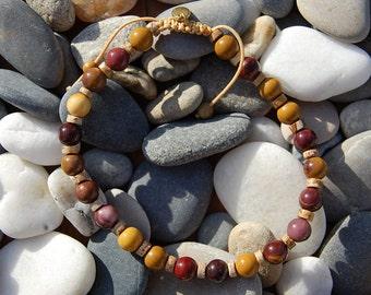 Stone man bracelet