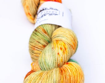 In Like a Lion - hand dyed yarn