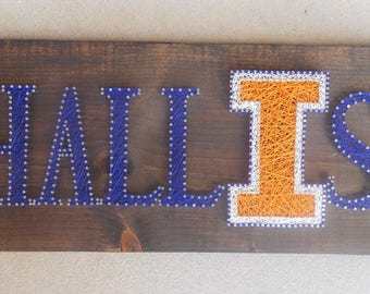MADE TO ORDER- Custome Name Sign- String Art Sign- Custome Order- Last Name- First Name- Established in