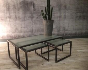 Liston Industrial Coffee Table
