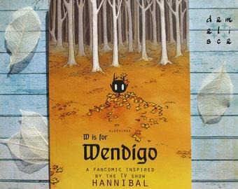W is for Wendigo comic book (book #2)