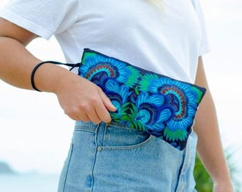 Small Clutch - Blue