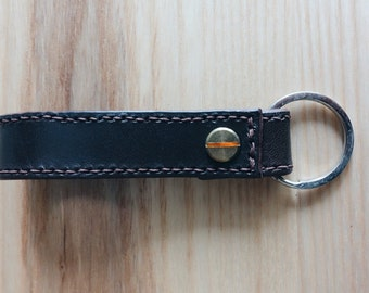 Handmade Leather Keychain, HK