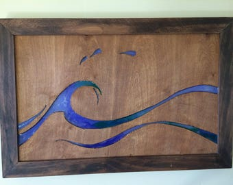 Electric Wave Wall Art