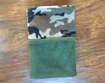 Camo Baby Blanket, Fleece Baby Blanket, Baby Shower Gift, Nursery Bedding, Camouflage, Army Baby Blanket, Play Mat, Baby Branch Boutique