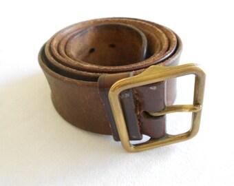 Swiss officer's belt