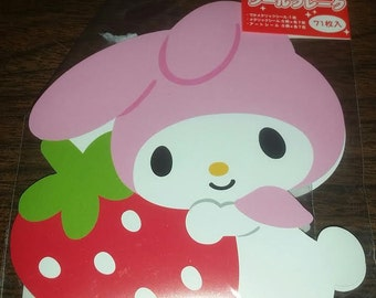 Kawaii My Melody Sticker Flakes Sack