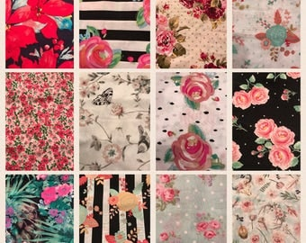 Floral Fabric Options
