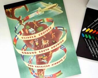 Travelersnotebook, Travel Notebook, Travel Journal, Huge Blank Book, Artist Sketchbook
