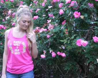 Park Places Racerback Tank - Choose Your Favorites! Flower and Garden